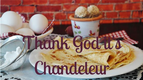 Thank's God it's Chandeleur