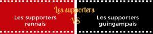 Le match stade rennais vs eag 7