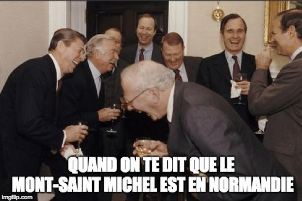 Le Mont Saint-Michel est en Bretagne